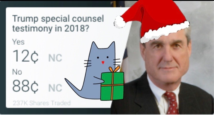 Bob Mueller or Santa Claus? Our Special Counsel Thinks Both Are Bringing Gifts This Christmas