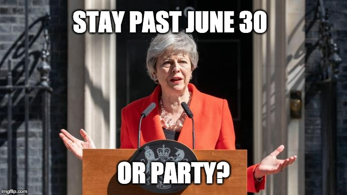 I Recommend Learning How to Count Before Betting on UK PM Theresa May