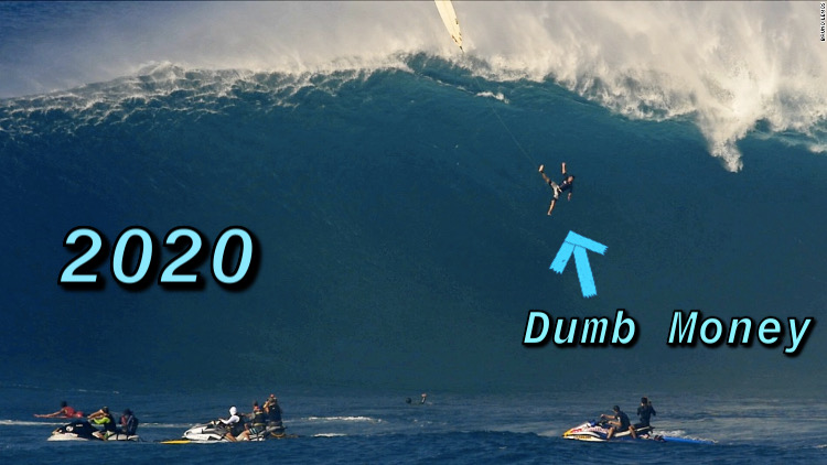 surfer dumb money 2020 wipeout