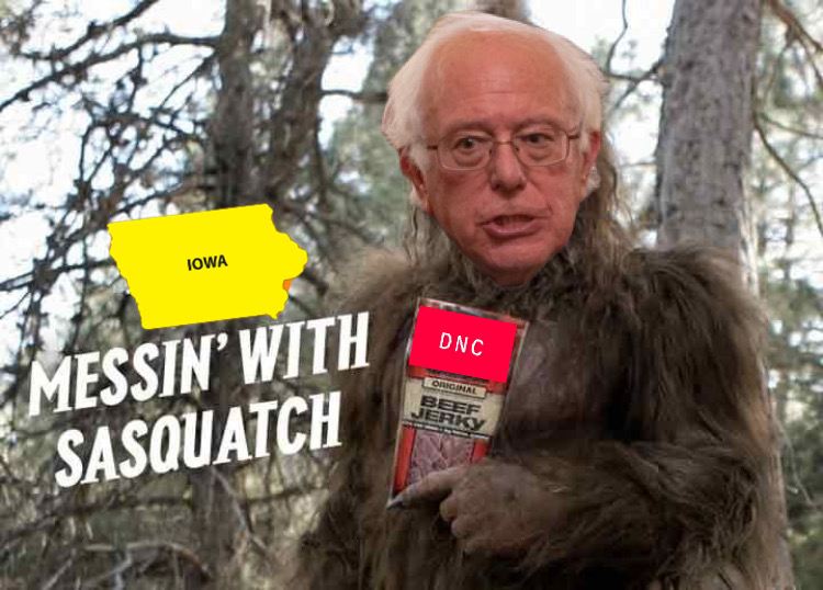 NEWSLETTER: Searching for Sasquatch in U.S. Politics