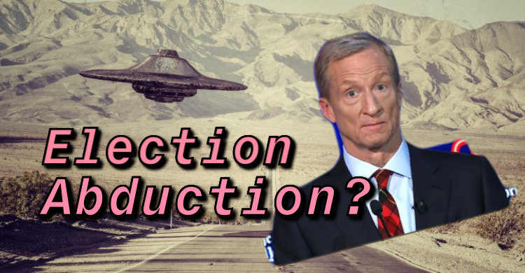 Is Tom Steyer Abducting the Nevada Caucuses?