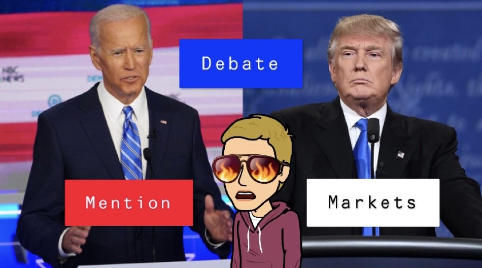 Debate Night Mention Markets Are Here!!